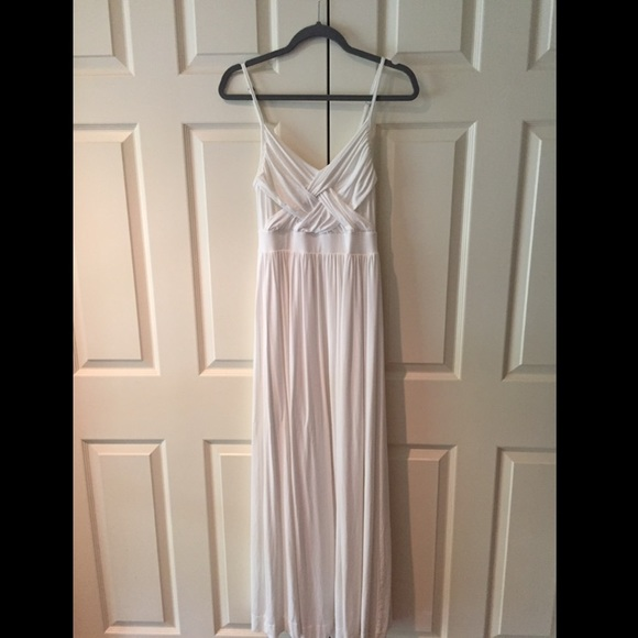 New York Company Dresses New York And Company White Maxi Dress