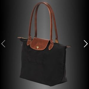New Longchamp Small Le Pliage Tote Bag in Noir