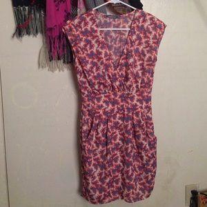 Peppermint Floral Print Dress