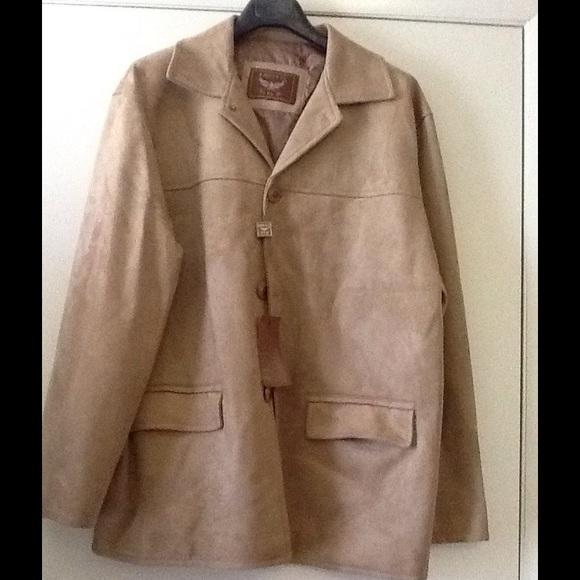 7d1c0e85e055 HOST PICK Men s Emporio Armani NWT suede jacket