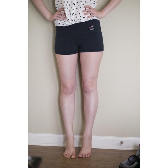 69% off Hollister Pants - Hollister Yoga Shorts Size M ...