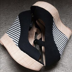 Forever 21 Peep Toe Wedges!