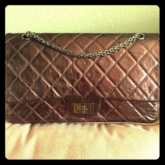 29 chanel handbags authentic chanel 2 55 nw box and