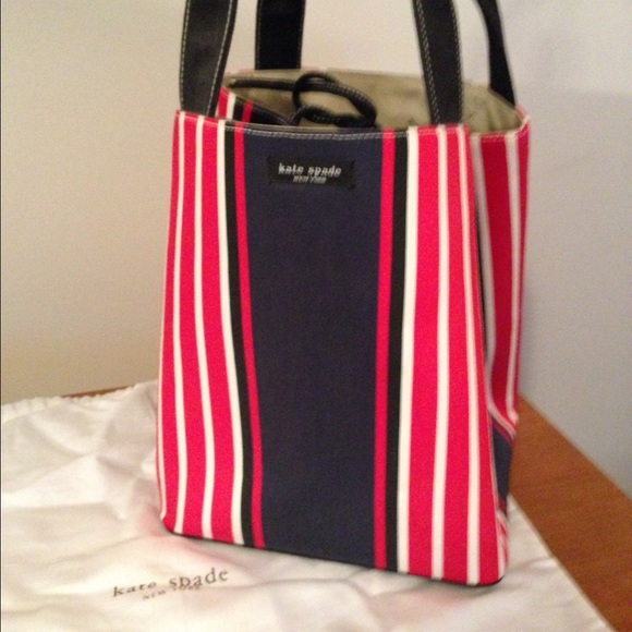 Kate Spade Bags Red White And Blue Purse Poshmark