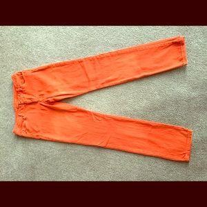 Michael Kors Orange Skinny Jeans