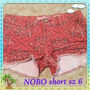 🆕 🆕Very sexy No Boundaries short size 6 🆕🆕