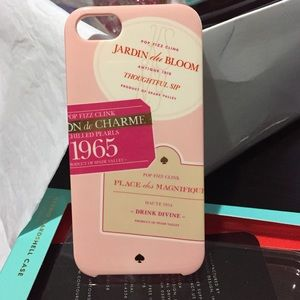 Authentic Kate spade iphone5 case