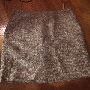 JCrew textured Mini Skirt