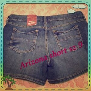 🆕 Arizona short size  9 New with tag 🆕