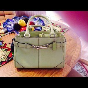 Handbag & matching wallet