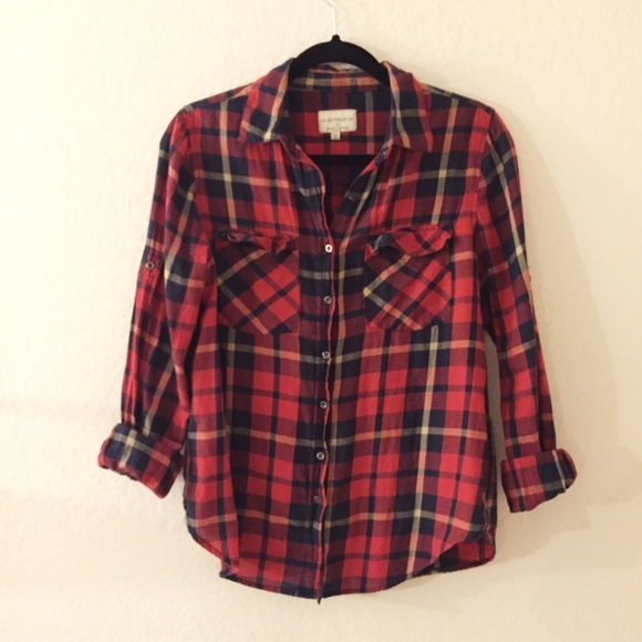 3da2d983451 Cotton On Red Checkered Flannel