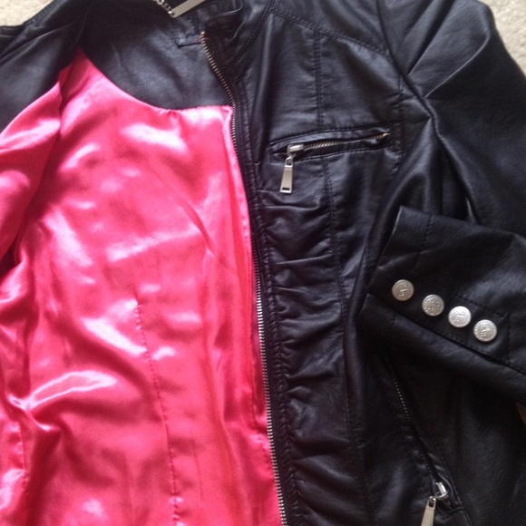 84% off Nordstrom Jackets & Blazers - $2o- Xs black leather jacket ...