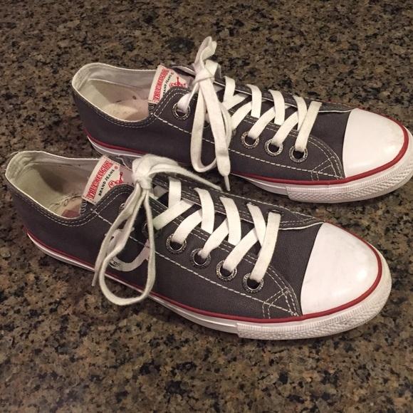 true religion canvas shoes