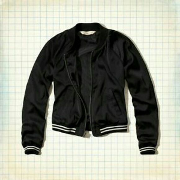 big clearance sale quality brand quality Satin Varsity Bomber Jacket (Juniors) NWT