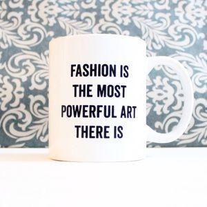 Blair Waldorf Fashion quote mug