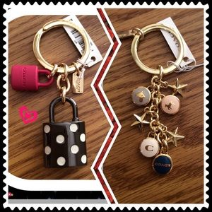 2 coach key fobs bundled