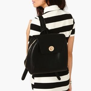 Nasty Gal Dionne Faux Leather Backpack