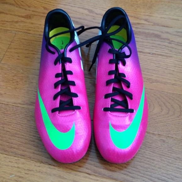 Nike Mercurial Soccer Cleats 6Y 7.5 Women s. M 5558b7604973b6607400af1c 33cfa2467a
