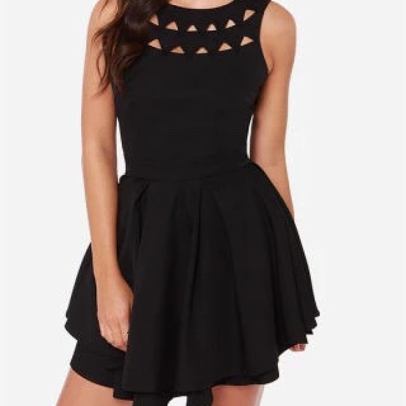 fb14a4887c Lulu s Dresses   Skirts - Flirting with danger cutout black ...