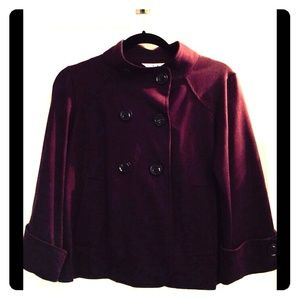 CAbi Plum/Grape Swing Jacket. Small