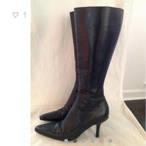 Lambertson Truex Tall leather boots