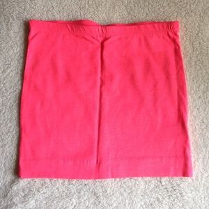 Never worn hot pink mini skirt