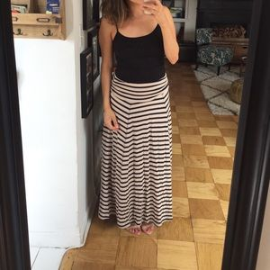 GAP Dresses & Skirts - Gap stripe maxi skirt