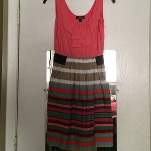 A. Byer Dresses & Skirts - Cute and colorful spring dress! Size Medium!