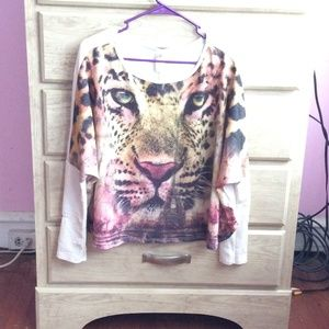 Medium sized Off the shoulder shirt