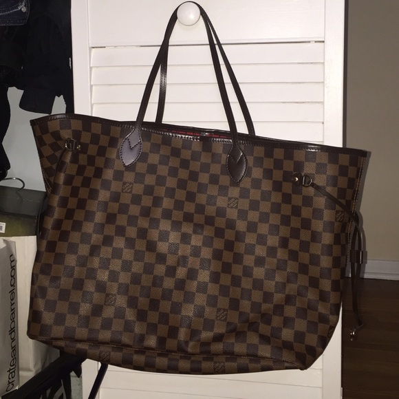 Louis Vuitton - Louis Vuitton Neverfull GM Damier Tote Bag from ...
