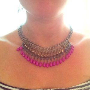 Free People mermaid bib necklace