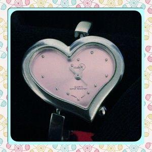 Heart shape watch