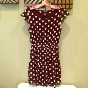 Lowered price! MM Couture polka dot dress