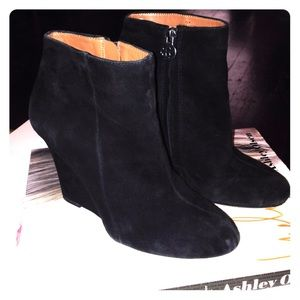 Sam Edelman wedge bootie 7 1/2
