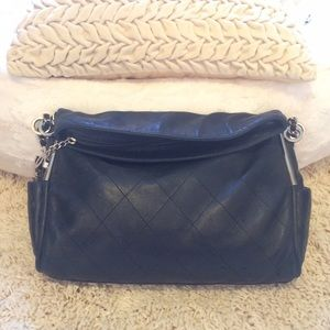 Chanel Black Lambskin Leather Bag