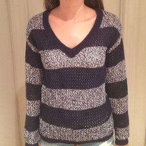 Navy Stripped Tommy Hilfiger Sweater