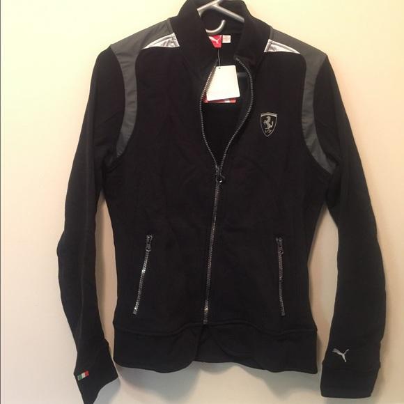 ferrari jackets coats brand new puma sweat jacket. Black Bedroom Furniture Sets. Home Design Ideas
