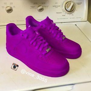 Nike Air Force 1 High Grey Black Pink Quandary