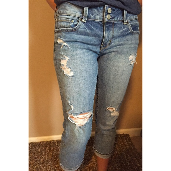 53% off American Eagle Outfitters Denim - SOLD SOLD SOLD Ripped ...