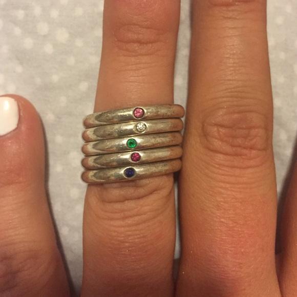 b6d63293a Tiffany & Co Elsa Peretti Stackable Rings. M_55593dd8a88e7d40ae0096fa
