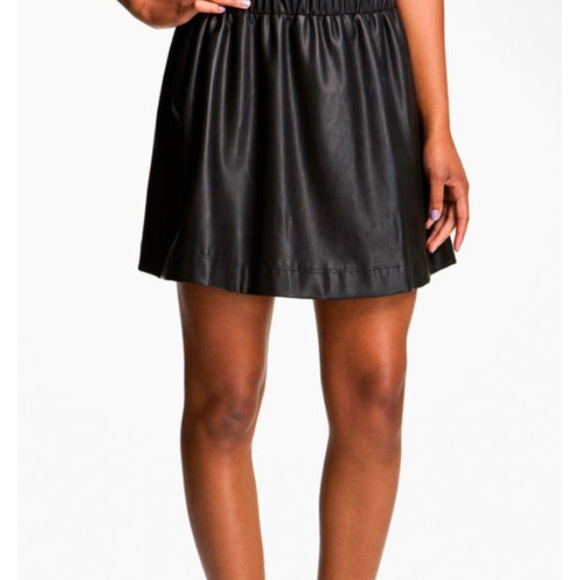 88 white dresses skirts black faux leather