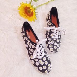 Charlotte Russe Shoes - Floral Print Sneakers