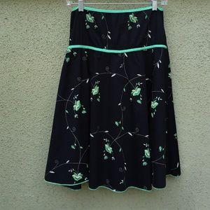 Dresses & Skirts - Floral Print Skater Skirt