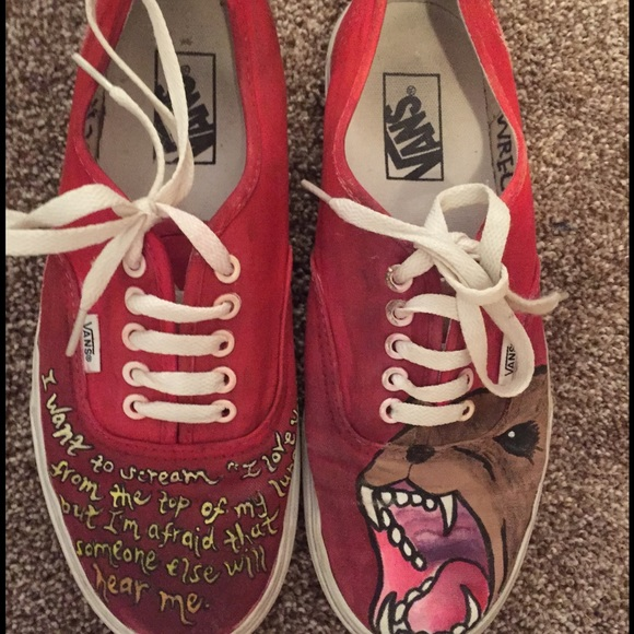 fall out boy vans chaussures