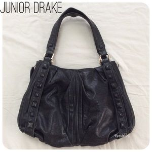 JUNIOR DRAKE studded handbag