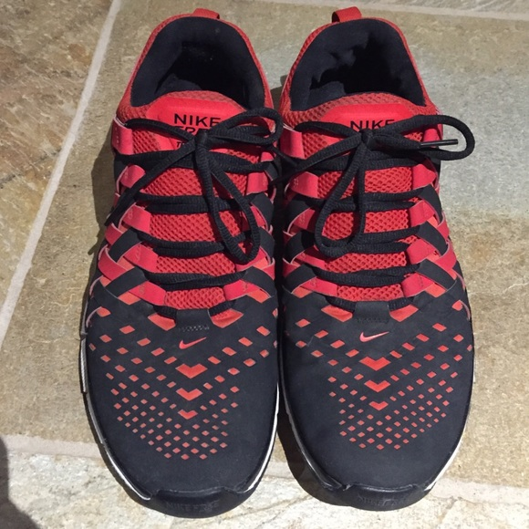 nike free trainer 5.0 weave red hair