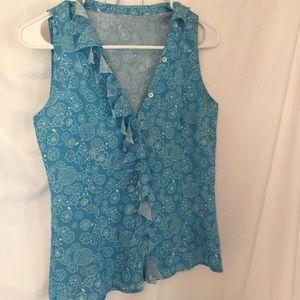 Luciano Barbera Dresses & Skirts - Blouse Luciano Barbera 93% silk size 38