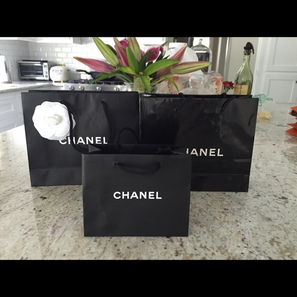 CHANEL - Authentic Chanel small shopping bags from Lynn's closet ...