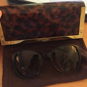 Tory Burch rounded square sunglasses