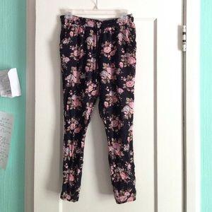 Forever 21 harem floral pants